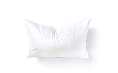 Feather Pillow Insert Lumbar