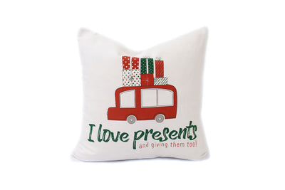 December I Love Presents Pillow Palooza
