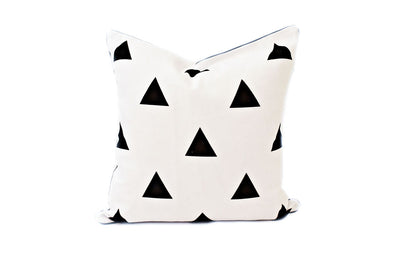 Love Triangle Pillow Cover