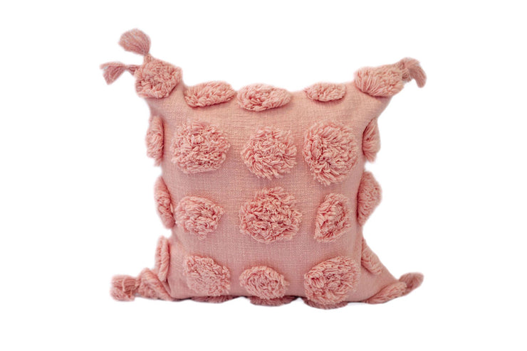 Poppin' Polka Pink Ballet Pillow Cover - EST SHIP DATE 10/5-10/19
