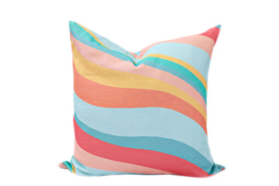 Totally Groovy Euro Pillow Cover