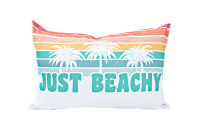 Beach Vibes Lumbar Pillow Cover