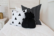 Love Triangle Medium Pillow Cover