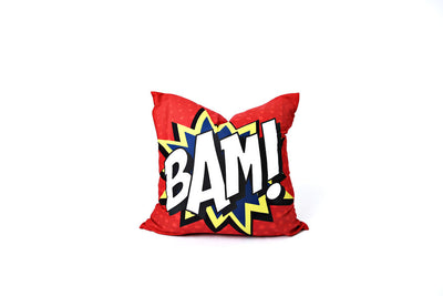 Bam Pillow Cover