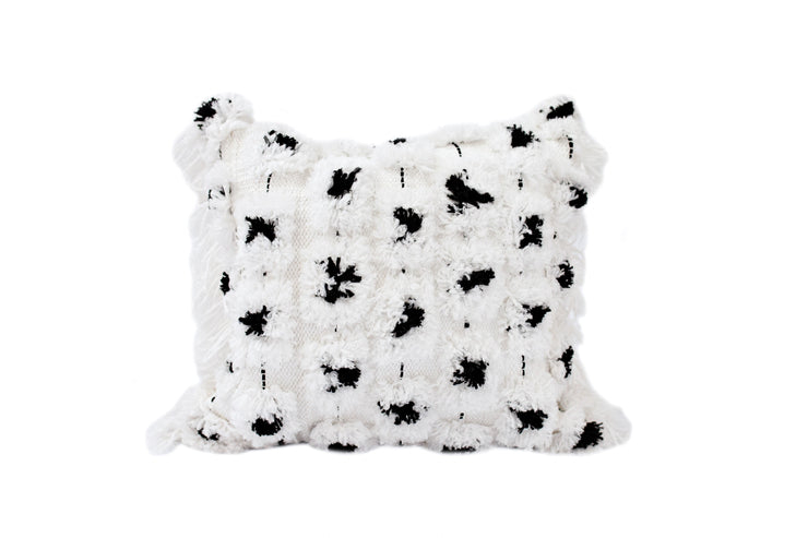 Boho Polka Party Pillow Cover