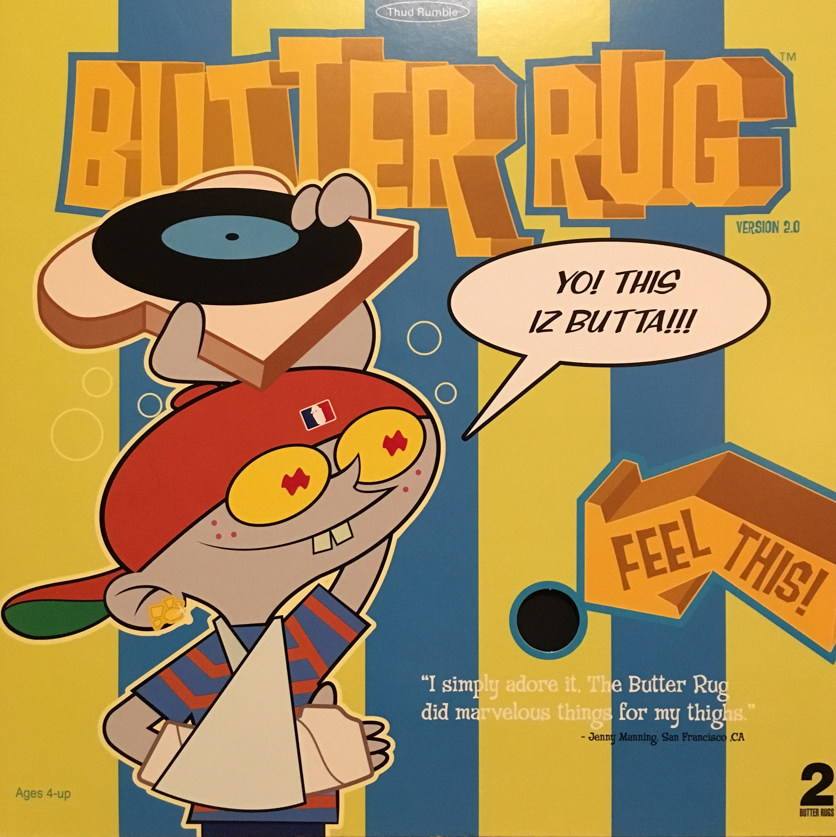 Butter Rugs (Retro Cover) 12""