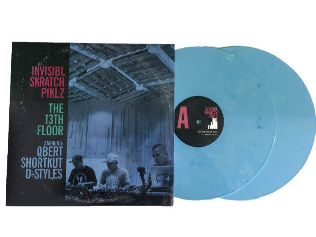 INVISIBL SKRATCH PIKLZ The 13th Floor 2LP (BABY BLUE)