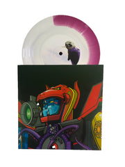 "SUPERSEAL GIANT ROBO VAC.1 (HEAD) - 7"" (Purple/White Vinyl)"