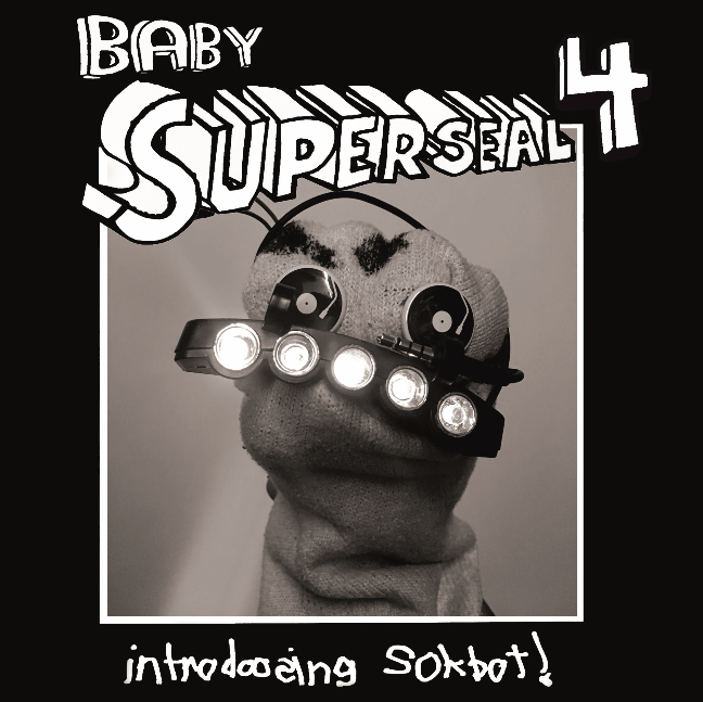 "Baby Superseal 4 7"" (L. Shoulder Superseal Giant Robo V) Sokbot (🔥Only 1 left!🔥)"