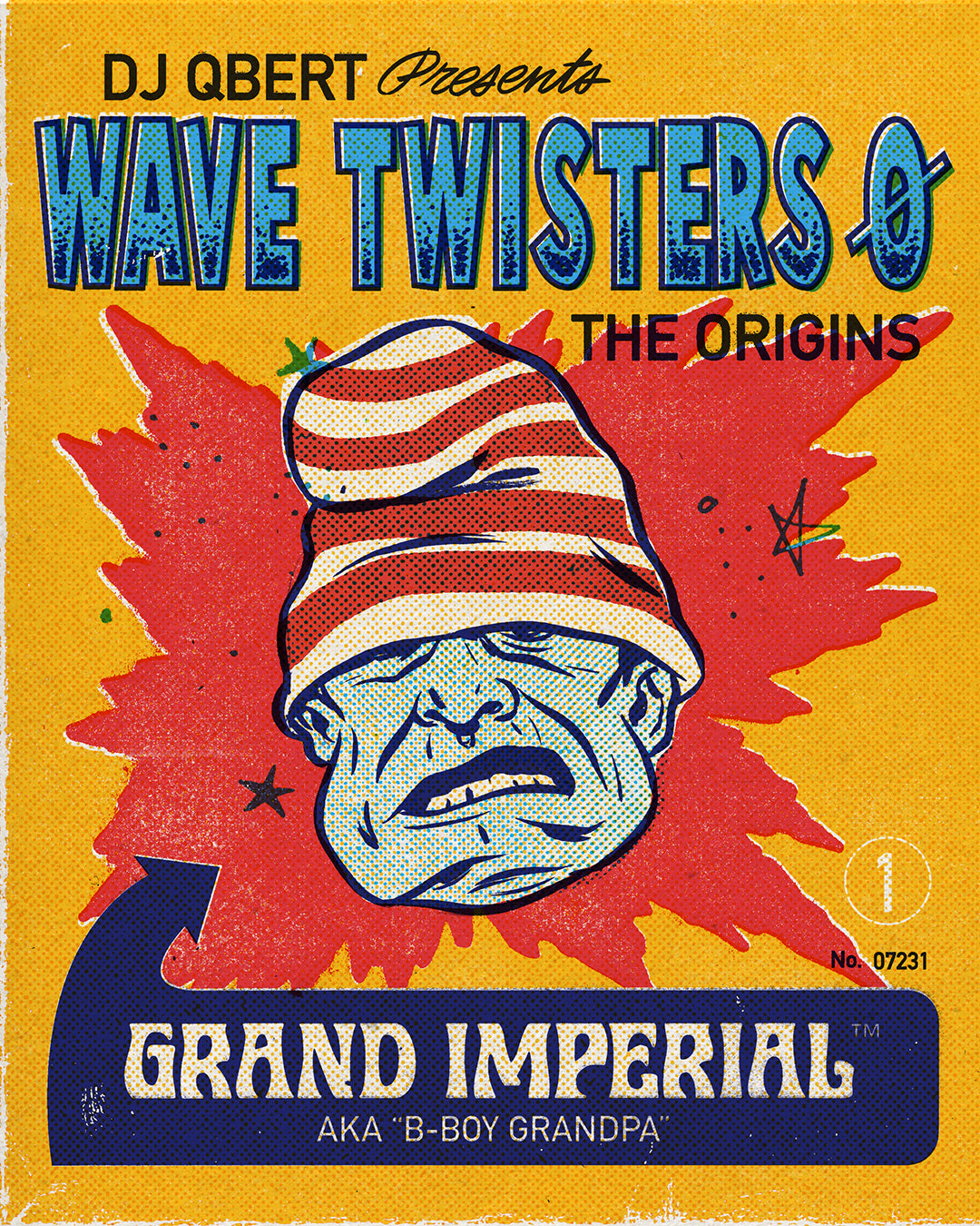 """GRAND IMPERIAL"" from the upcoming album ""WAVE TWISTERS ZERO: The Origins"""