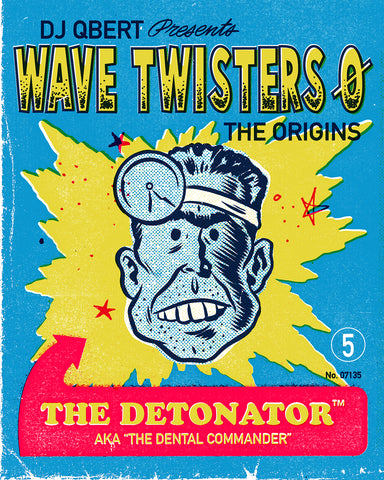 """THE WORMINATOR"" FROM THE UPCOMING ALBUM ""WAVE TWISTERS ZERO: THE ORIGINS"""