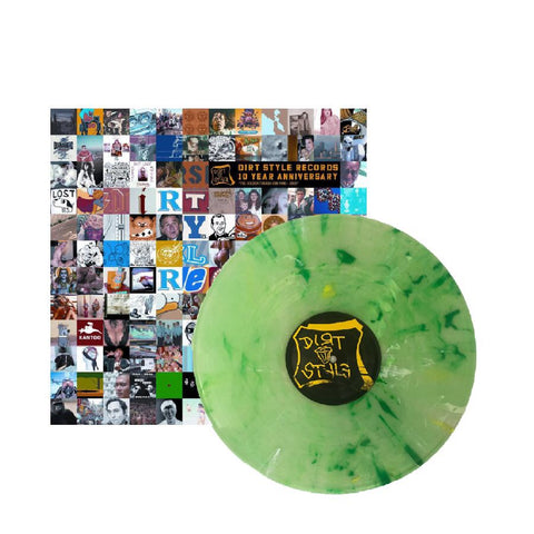 NEW! - Dirt Style Records 10 Year Anniversary (LIME GREEN)