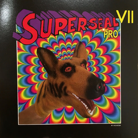"Superseal VII PRO #1 (Giant Robo VII head) Highena 7"" (🔥SOLD OUT!🔥)"