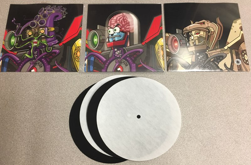 "BABY Superseal Robo Heads 7"" Bundle!! $45 (🔥SOLD OUT!🔥)"