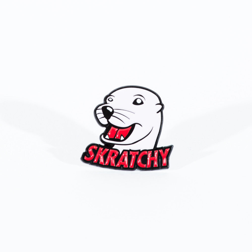 Scratchy Seal Pin - Thud Rumble - 1