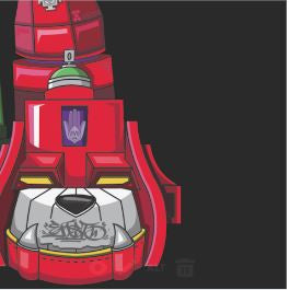 SUPER SEAL GIANT ROBO V.5 (L. FOOT) - Digital - Thud Rumble