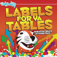 LABELS FOR YA TABELS - Thud Rumble - 1