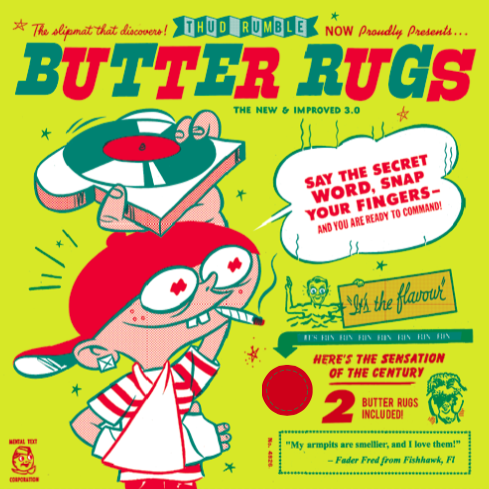 "Butter Rugs - 12"" - Thud Rumble"