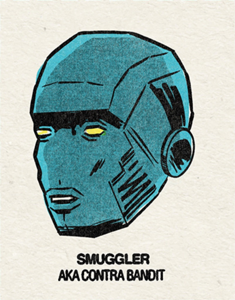#5 Smuggler (Contra Bandit) Single From Origins/Wave Twisters Zero (Digital download)
