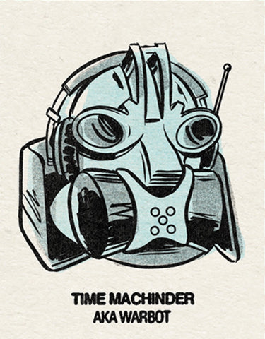 #1 Time Machinder (Warbot) Single From Origins/Wave Twisters Zero (Digital download)
