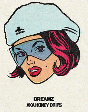 #15 Dreamz (Honey Drips) Single From Origins/Wave Twisters Zero (Digital download)