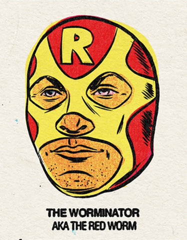#17 The Worminator (The Red Worm) Single From Origins/Wave Twisters Zero (Digital download)
