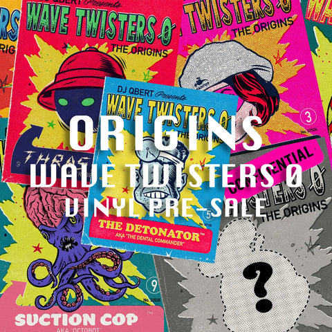 "💥 ""ORIGINS"" Wave Twisters 0̸ Vinyl Album Pre-Sale! 💥"