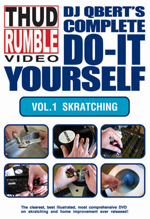 DVD: Do It Yourself: Vol. 1 Skratching - Thud Rumble