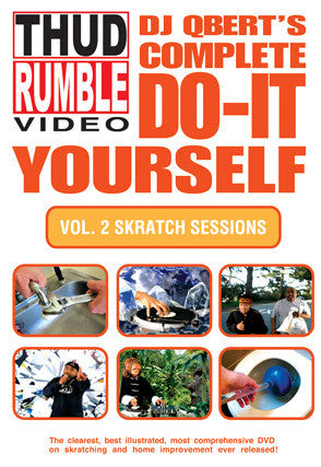 DVD: Do It Yourself: Vol. 2 Skratch Sessions - Thud Rumble
