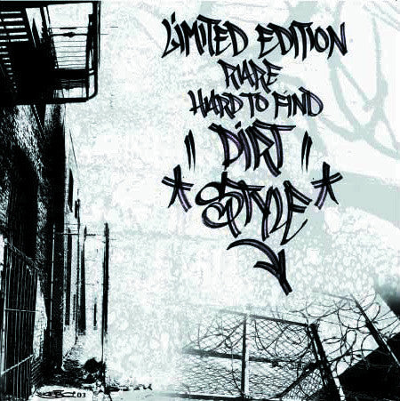 Limited Edition Rare Hard To Find Dirtstyle Record (White Vinyl) - Thud Rumble