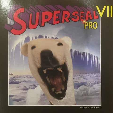 "Superseal VII Pro Part #6 of 7 Polar Bear Portablist 7"" R. wing Ice Blue vinyl!"