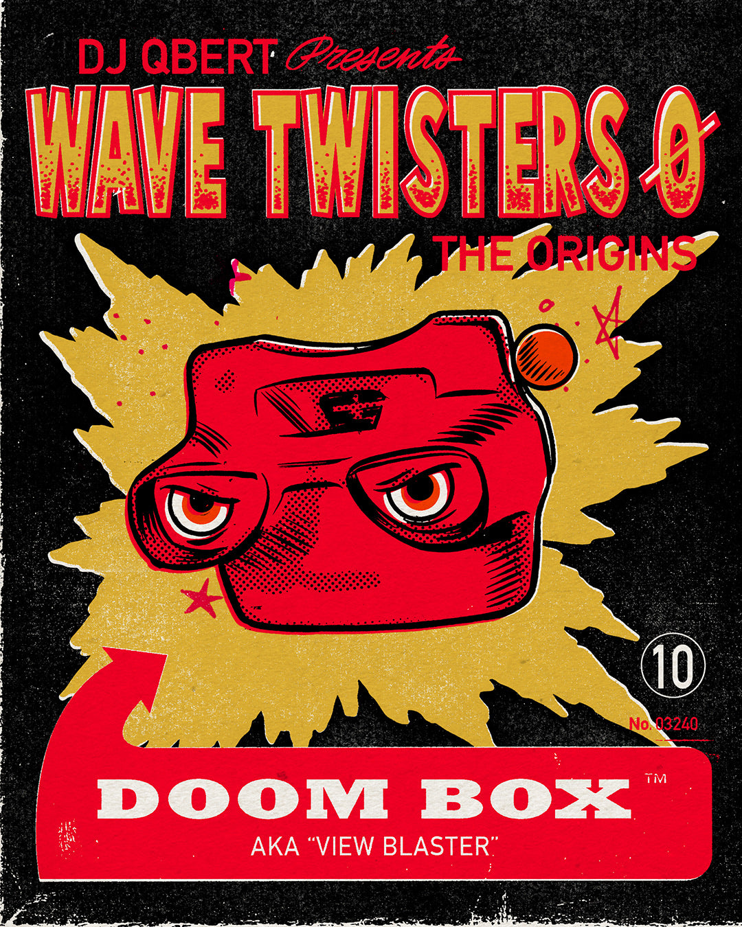 "DOOM BOX ""WAVE TWISTERS ZERO: THE ORIGINS"""