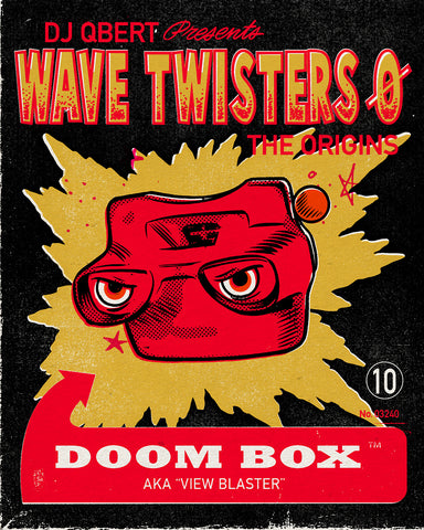 "DOOM BOX ""WAVE TWISTERS ZERO: THE ORIGINS"