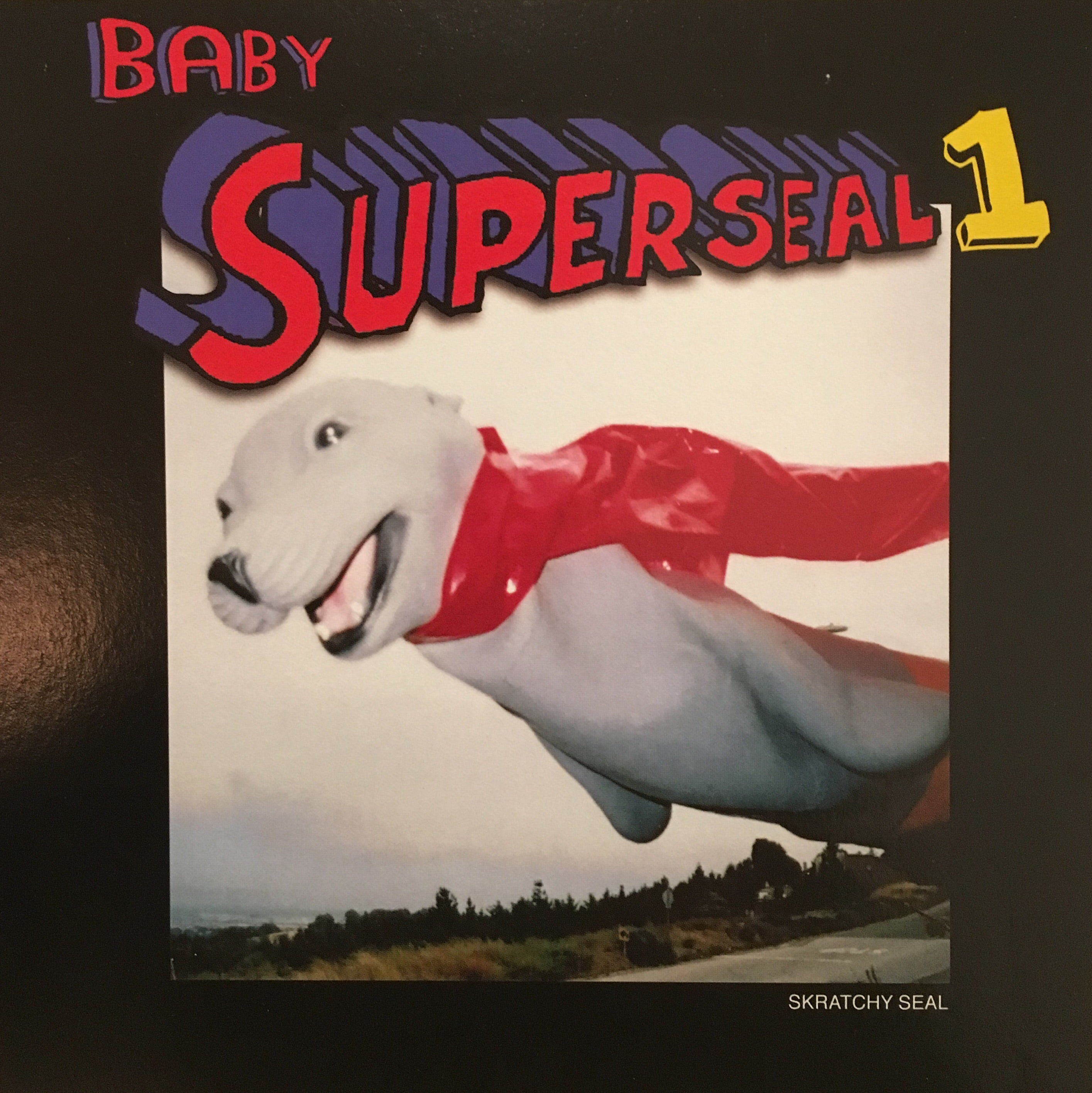 "💥Baby Superseal 1 Remix! 7"" Orange Vinyl!"