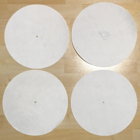 Back Up Butter Rugs White (minor imperfections) 4 pack! 12