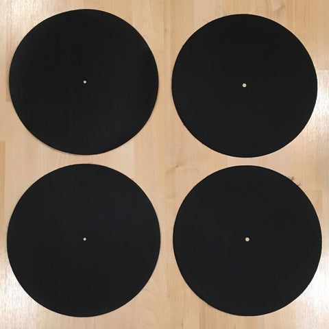 Back Up Butter Rugs Black (minor imperfections) 4 pack! 12