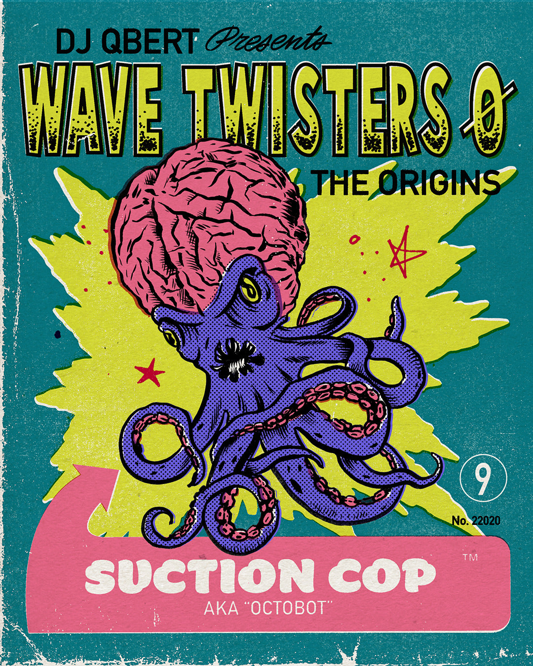 """SUCTION COP""  from ""WAVE TWISTERS ZERO: Origins (single Extended version)"