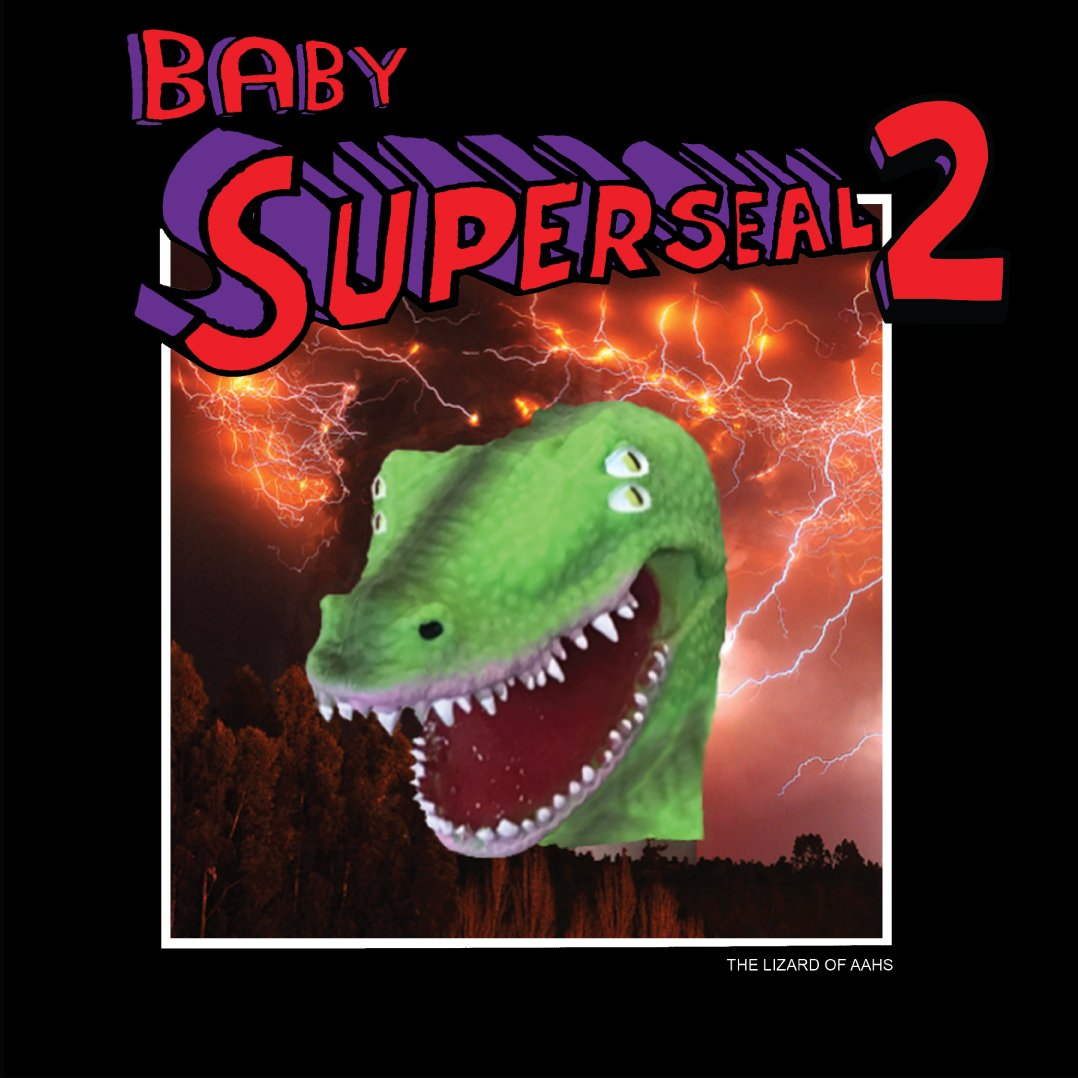Baby Superseal 2 (Digital) Lizard of Ahhs