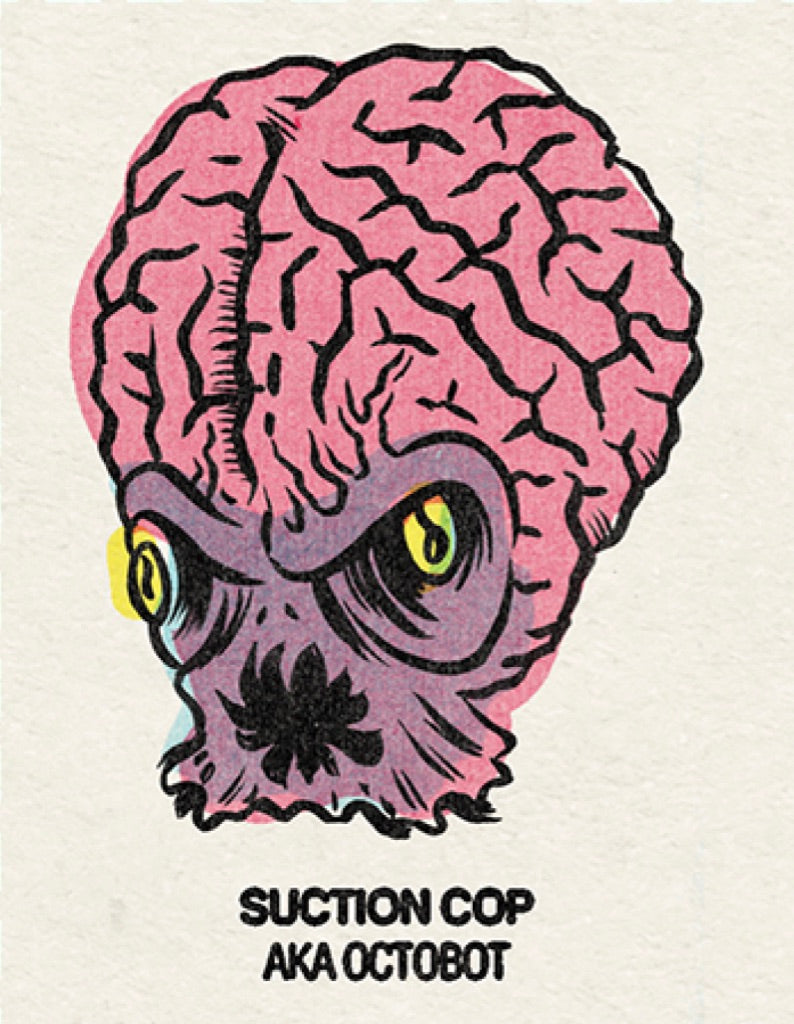#18 Suction Cop (Octobot) Single From Origins/Wave Twisters Zero (Digital download)