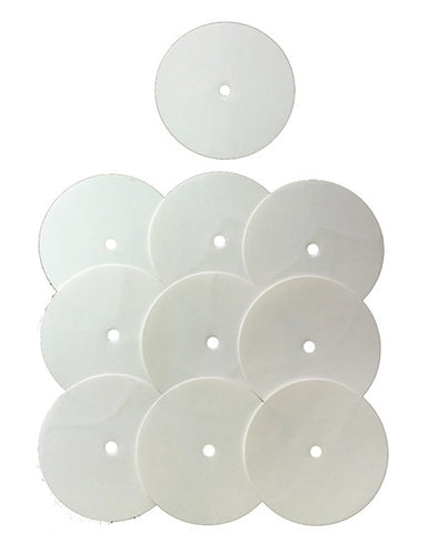 10 DIY White Vinyl Labels - Thud Rumble