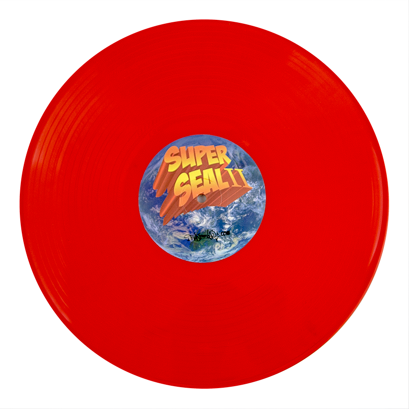 NEW! - Superseal 2: Skratchy Beats Off Space Suckas (Blood Orange)