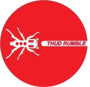 Thud Rumble Marker Label (Red) - Thud Rumble
