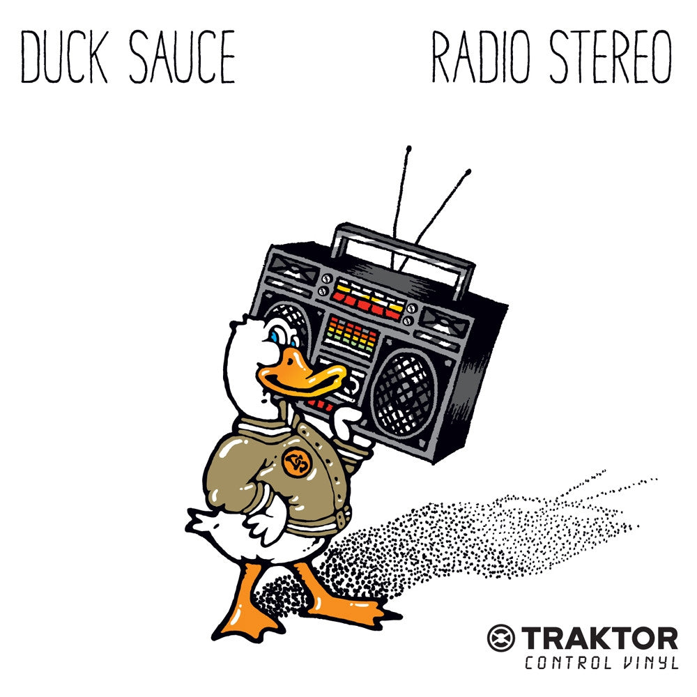 Duck Sauce - Radio Stereo Quacktor Single/ Traktor Control Record - Thud Rumble - 1