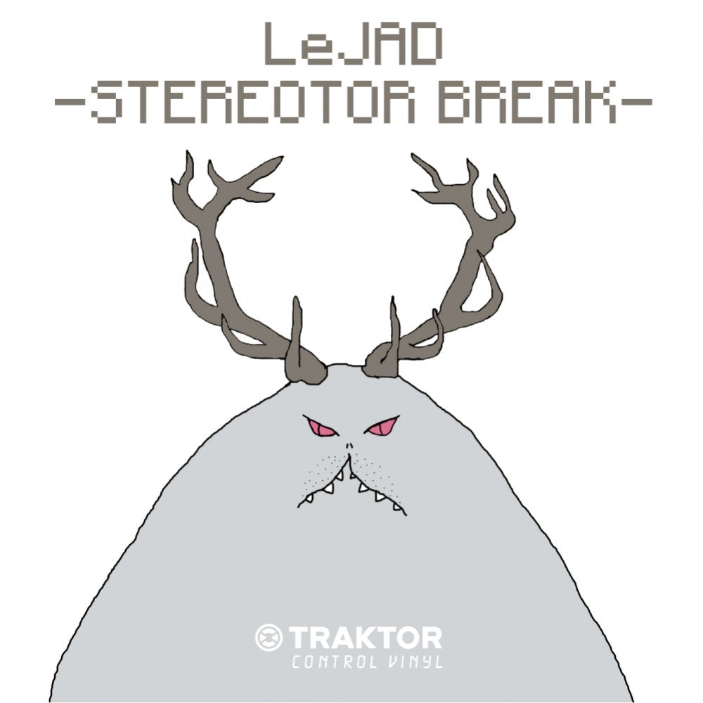 Le Jad - Stereotor Breaks/ Traktor Control Record - Thud Rumble - 1