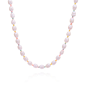 Sunshine Pearl Necklace