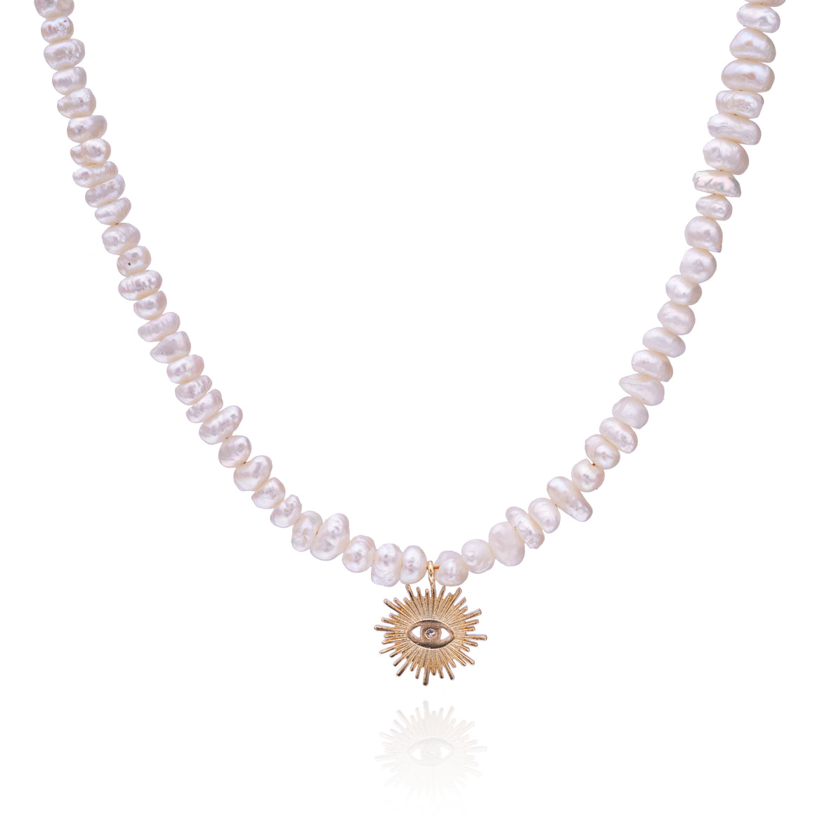 Light of Protection Pearl Necklace