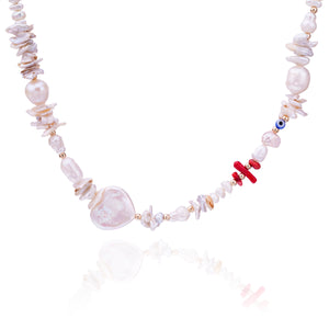 Mother Love Pearl Necklace
