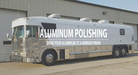 Aluminum Polishing on Bus