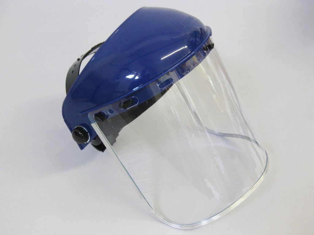 Headgear With Full Face Shield 8 X 16 X 040 Clear