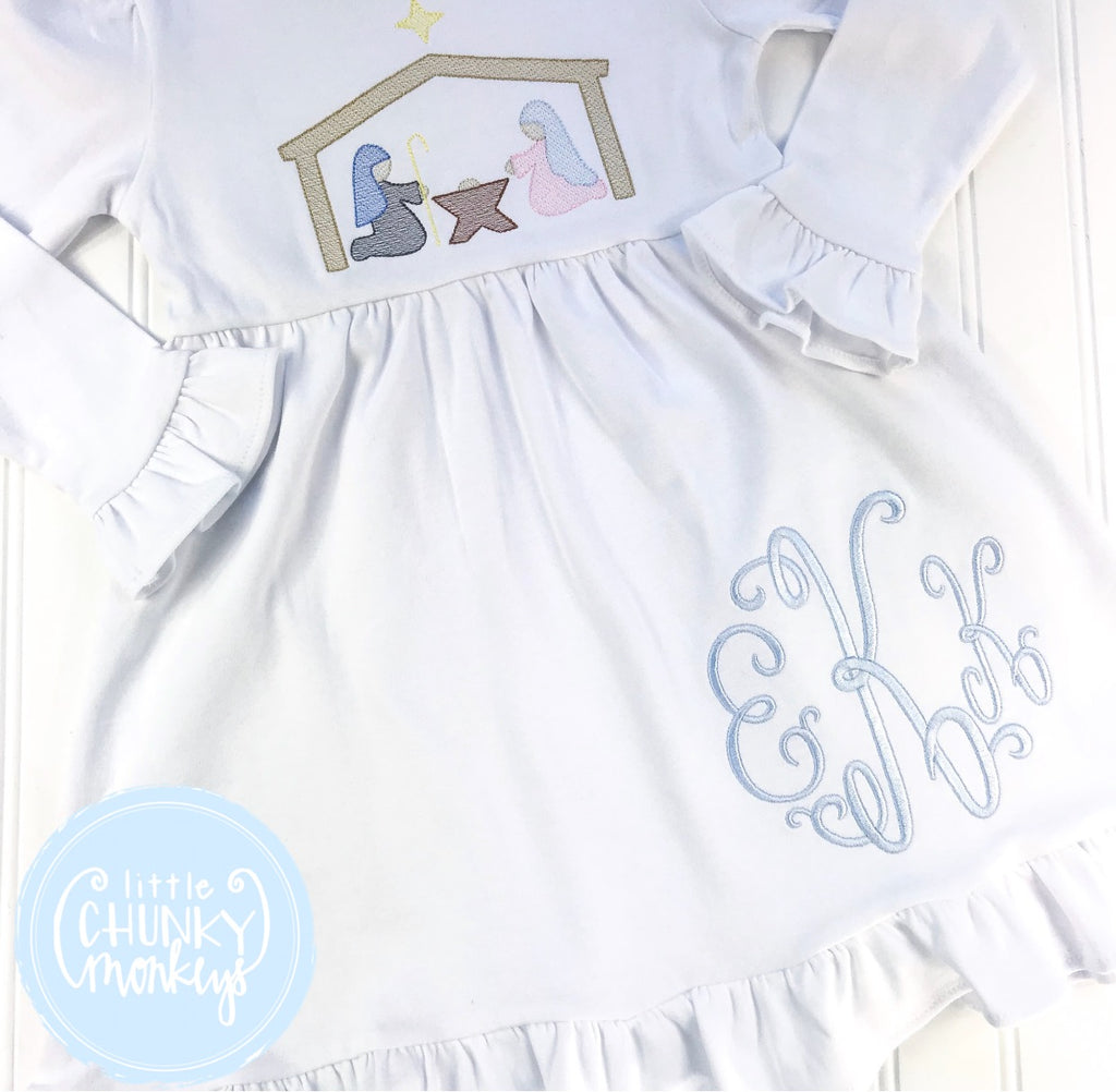 Girl Outfit - Christmas  Outfit - Nativity Scene